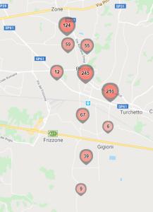 Mappe data base